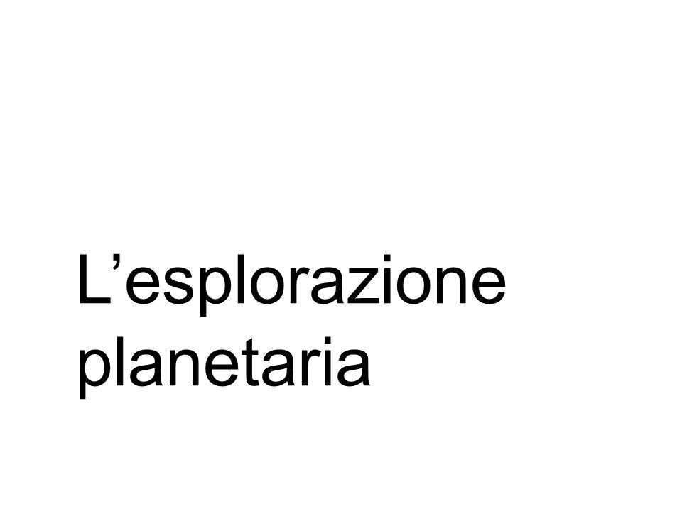 L'esplorazione planetaria