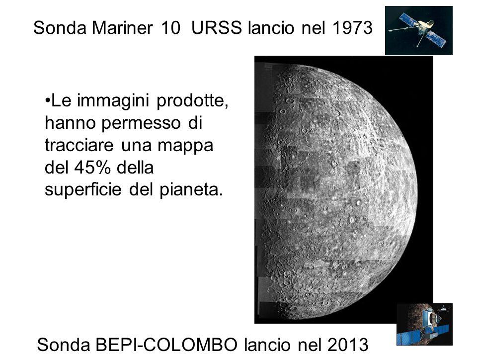 Sonda Mariner 10 URSS lancio nel 1973