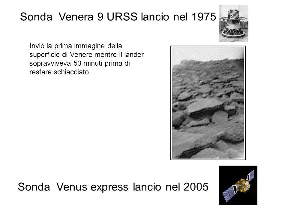 Sonda Venera 9 URSS lancio nel 1975