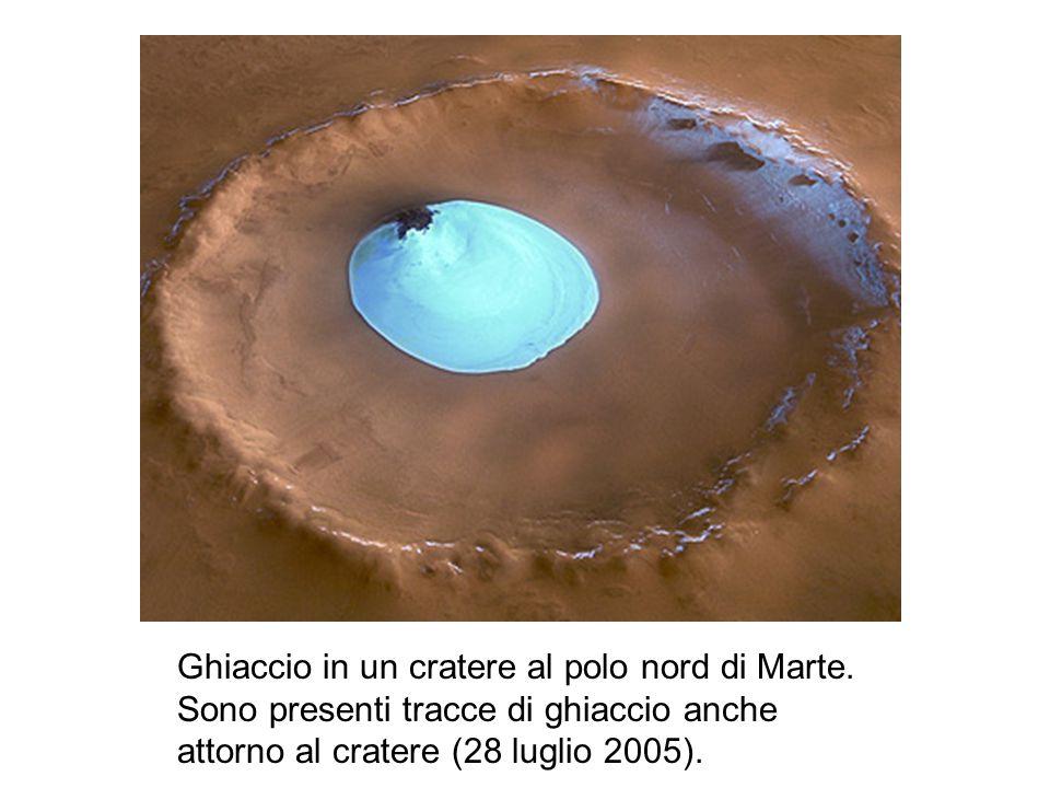 Il 23 gennaio 2004 la sonda ha prodotto la prima prova diretta di quello che fino a quel momento era solo un ipotesi, e cioè la presenza di acqua su Marte; nello specifico le immagini dimostrano la presenza di acqua nel polo sud del pianeta.
