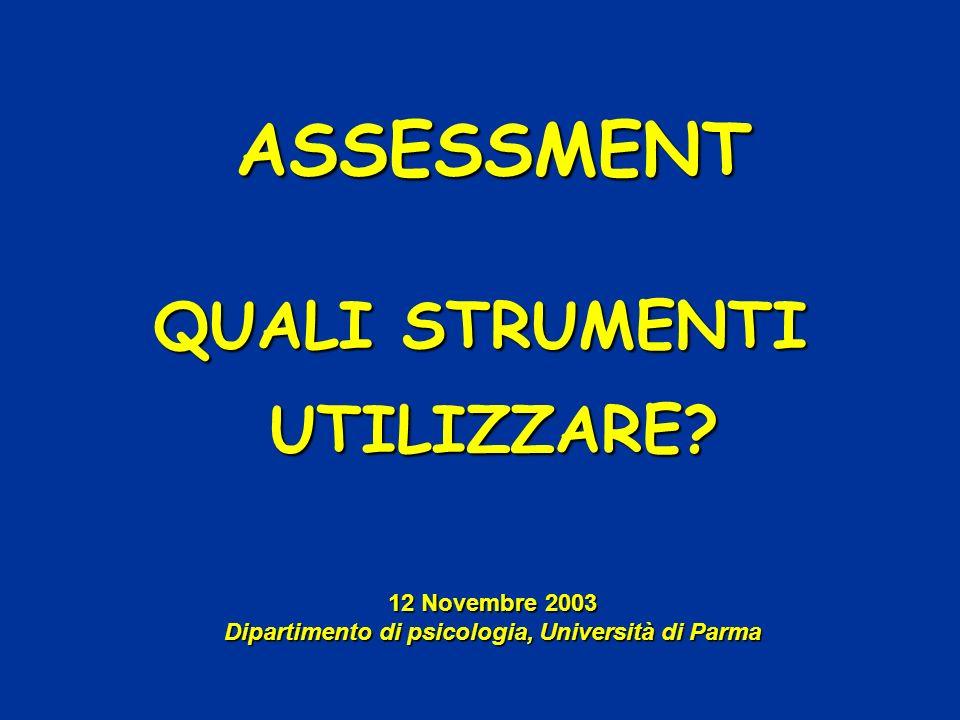Dipartimento di psicologia, Università di Parma