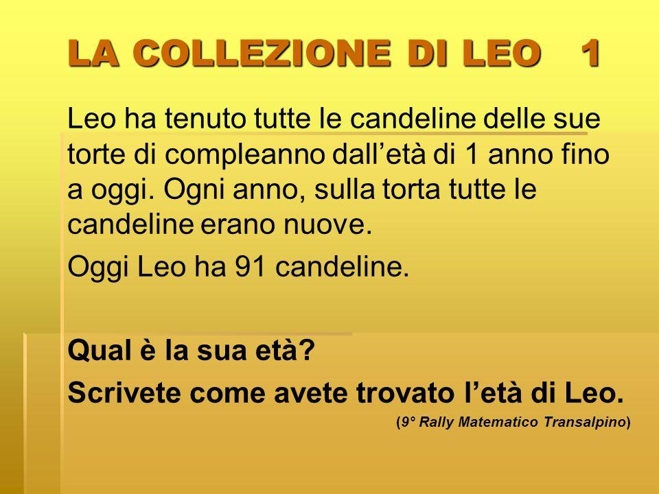 LA COLLEZIONE DI LEO 1