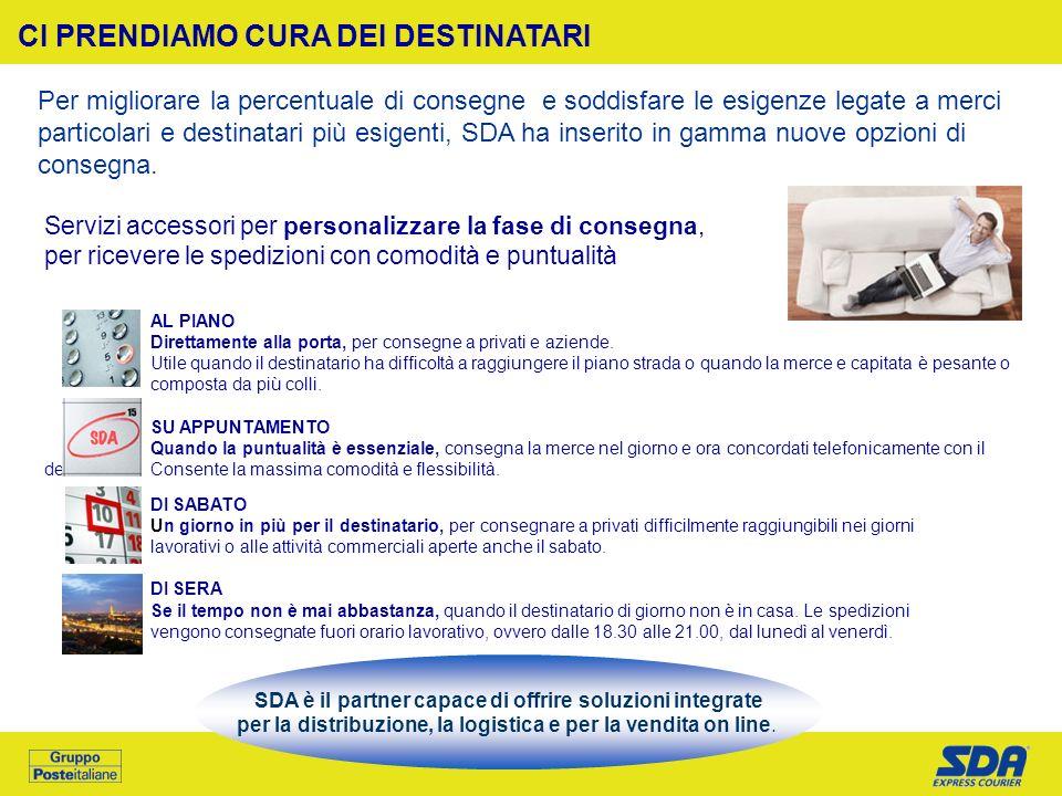 SDA è il partner capace di offrire soluzioni integrate