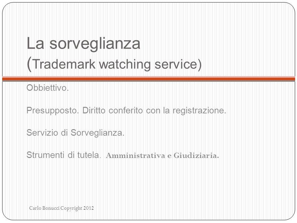 La sorveglianza (Trademark watching service)