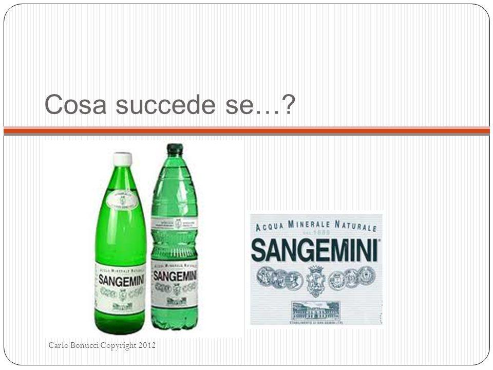 Cosa succede se… Carlo Bonucci Copyright 2012
