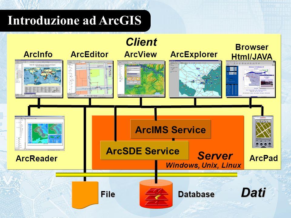 Introduzione ad ArcGIS