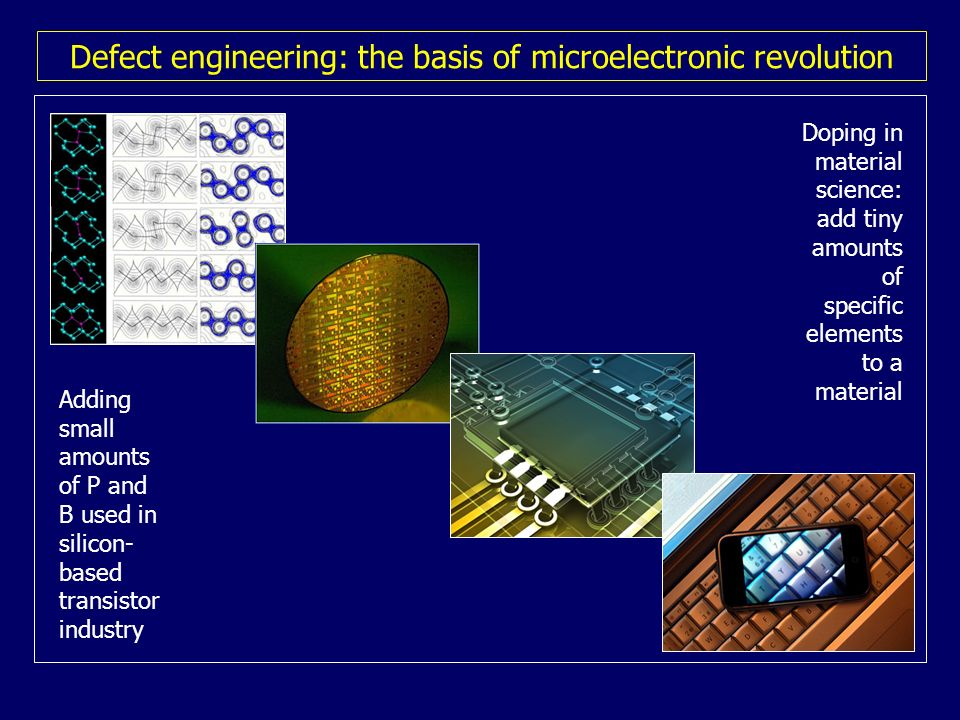 Defect engineering: the basis of microelectronic revolution