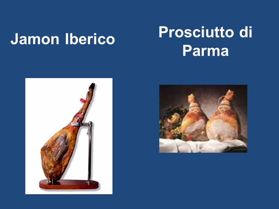 Prosciutto di Parma Jamon Iberico