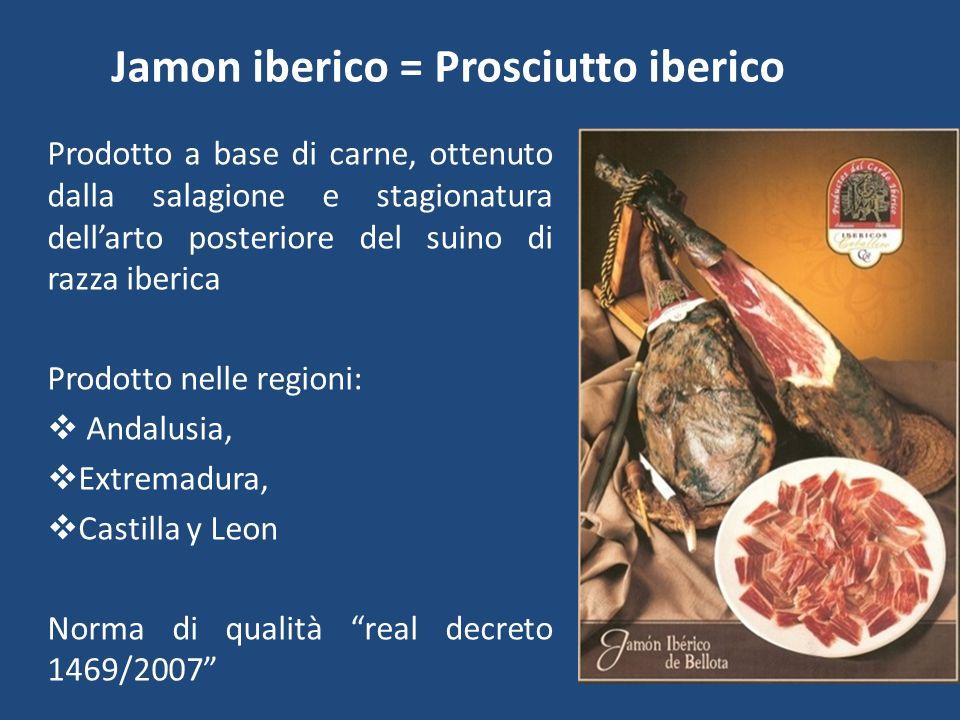 Jamon iberico = Prosciutto iberico