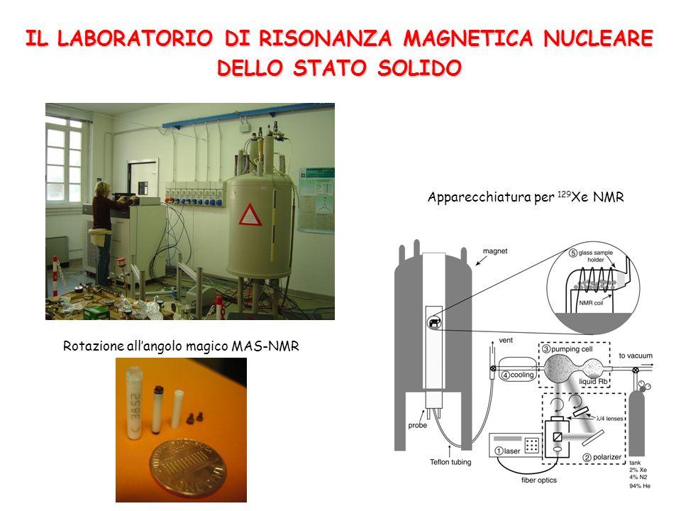 IL LABORATORIO DI RISONANZA MAGNETICA NUCLEARE DELLO STATO SOLIDO