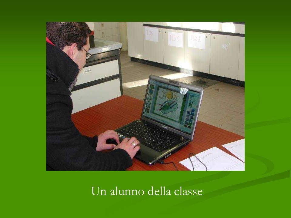 Un alunno della classe