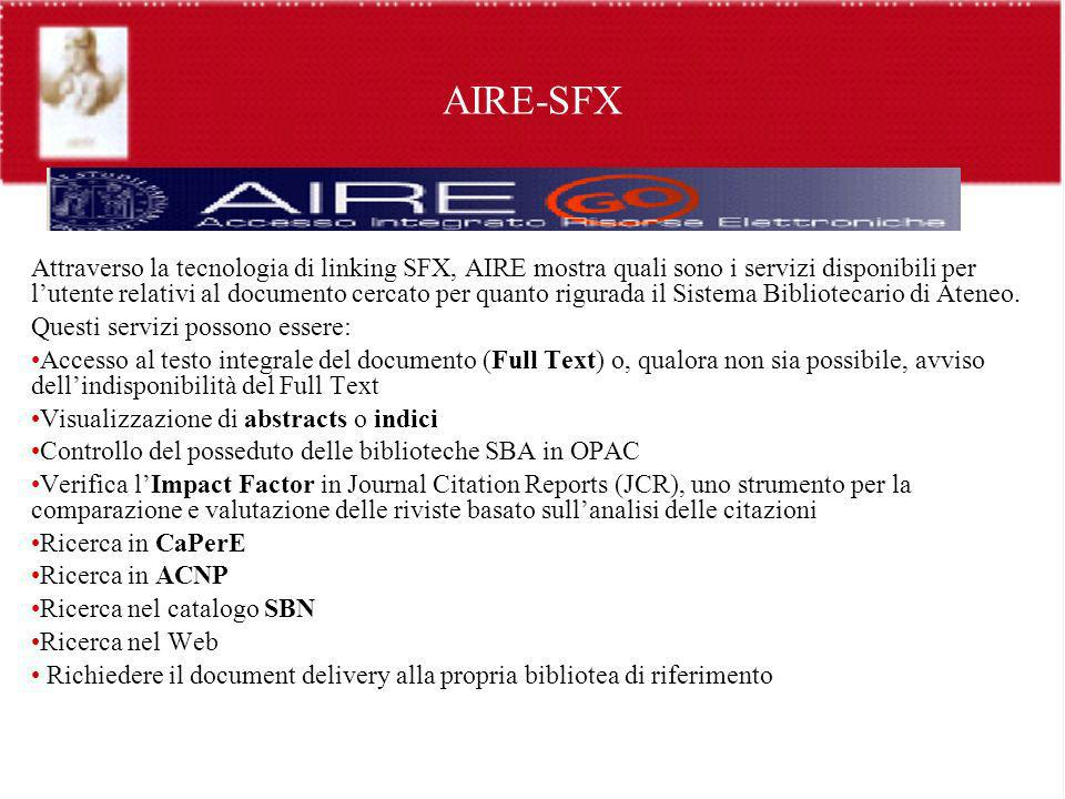 AIRE-SFX