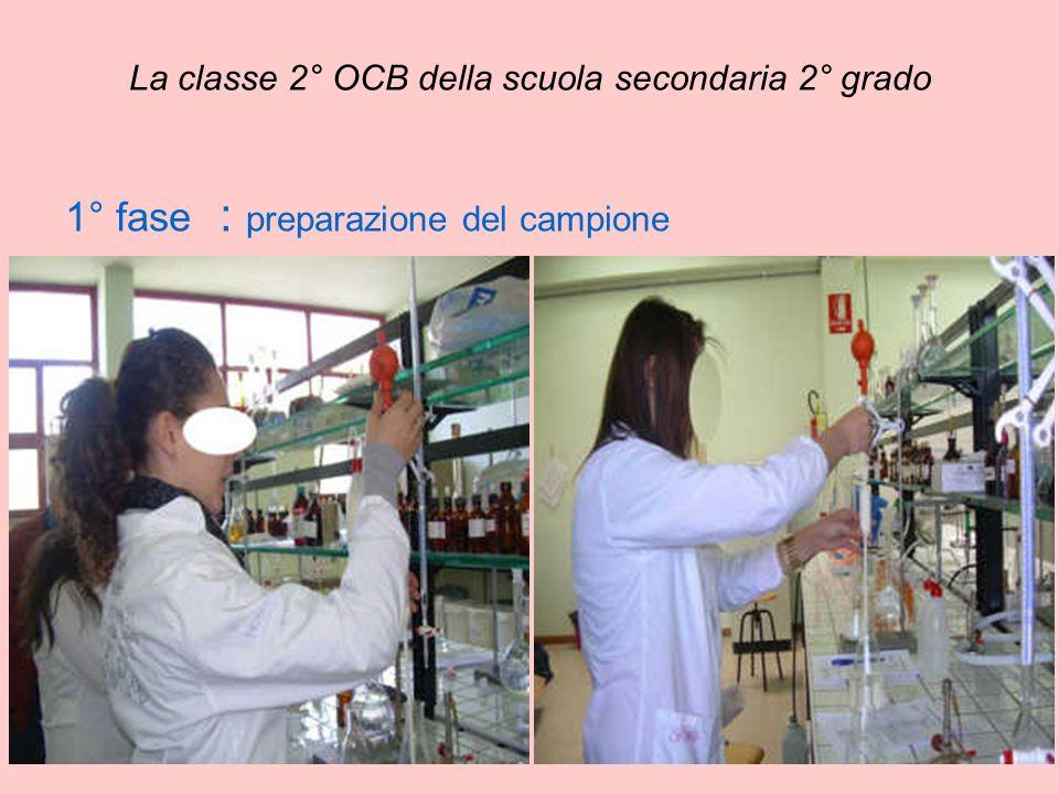 La classe 2° OCB della scuola secondaria 2° grado