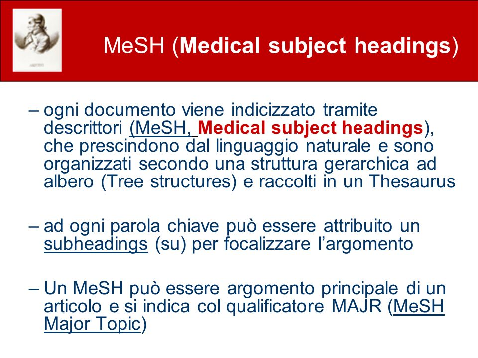 MeSH (Medical subject headings)