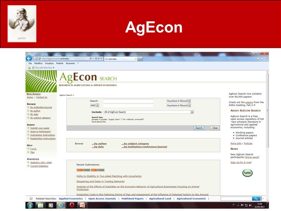 AgEcon http://www.treesearch.fs.fed.us