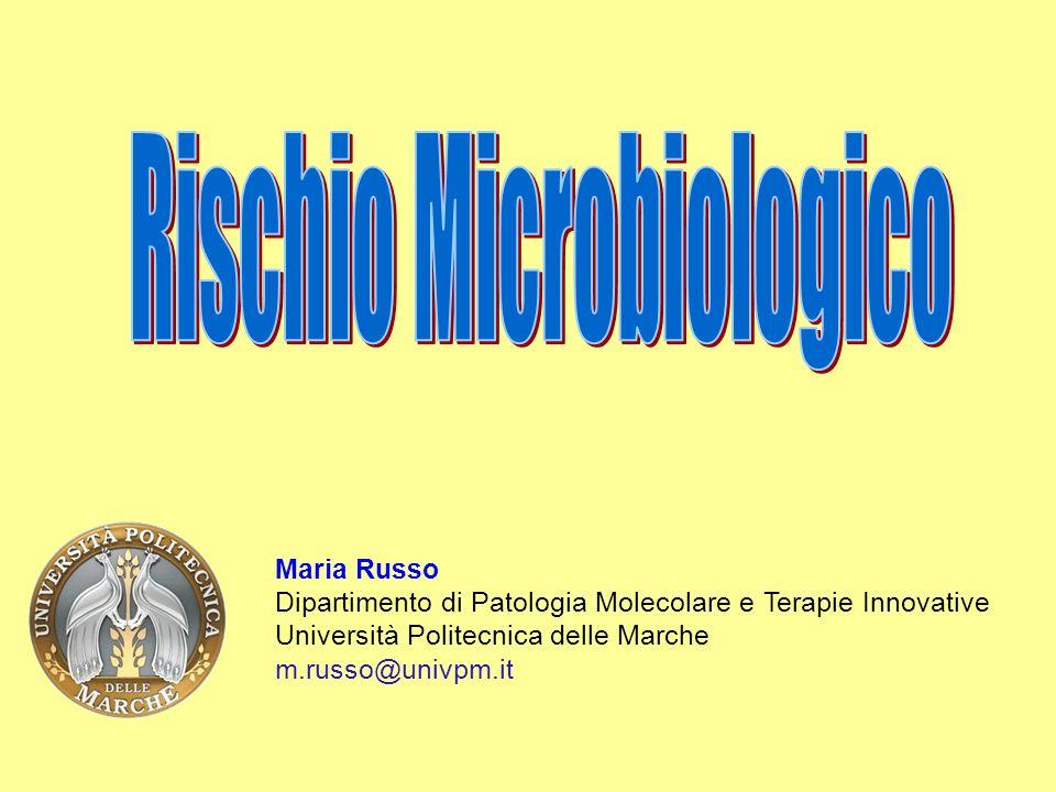 Rischio Microbiologico