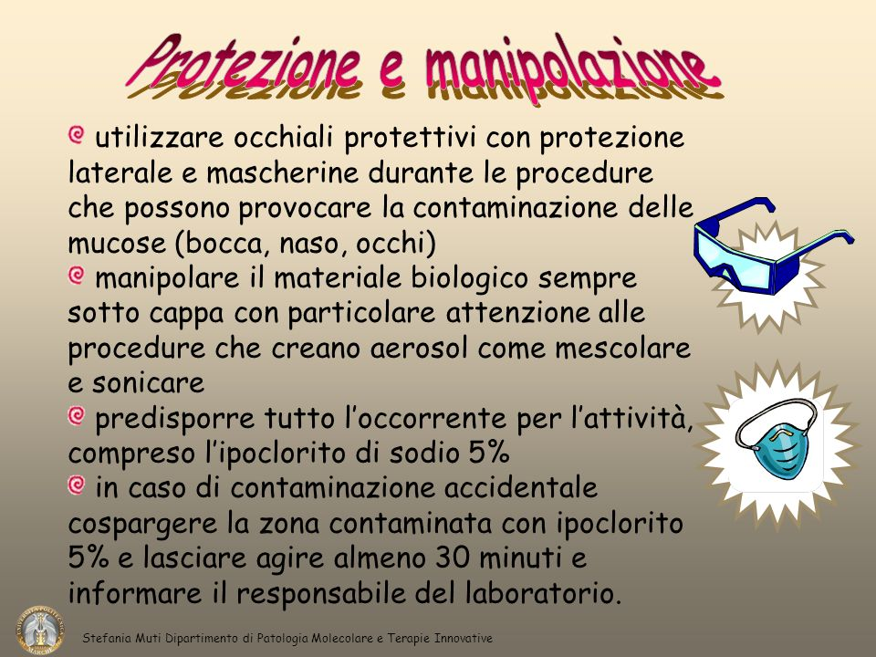 Protezione e manipolazione