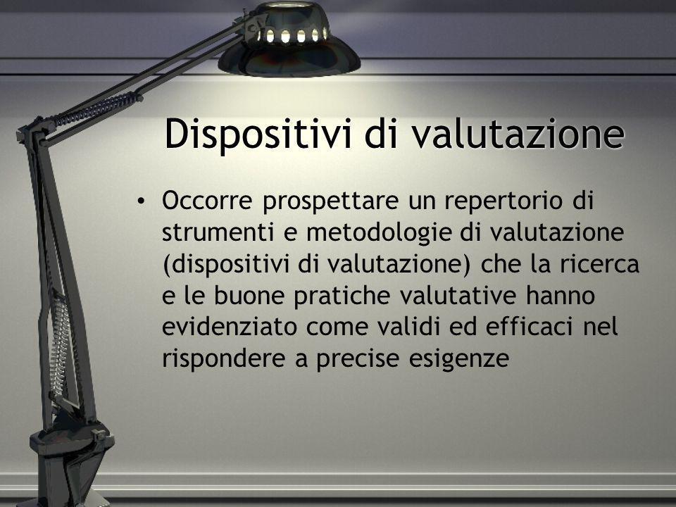 Dispositivi di valutazione