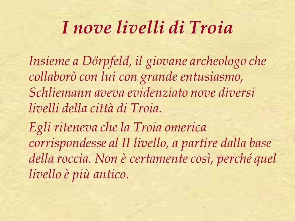 I nove livelli di Troia