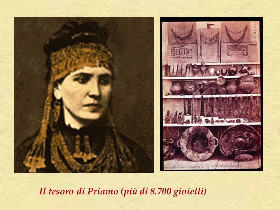 Il tesoro di Priamo (più di 8.700 gioielli)