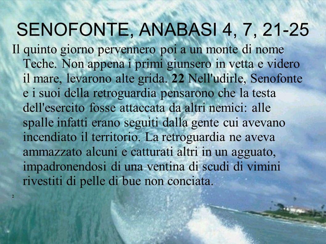SENOFONTE, ANABASI 4, 7, 21-25