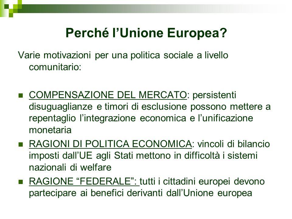 Perché l'Unione Europea