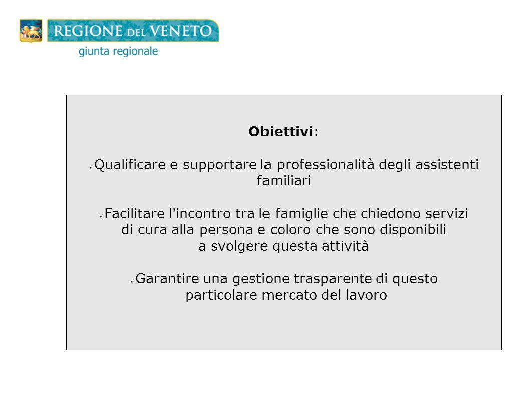 Qualificare e supportare la professionalità degli assistenti familiari