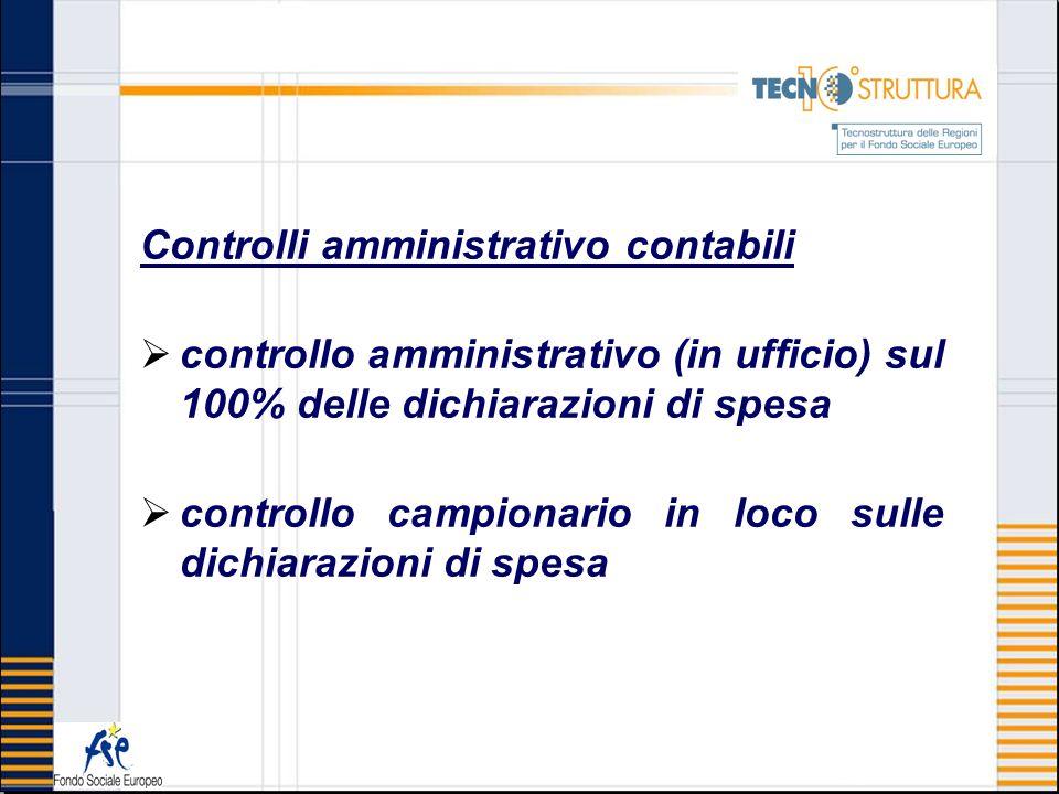 Controlli amministrativo contabili