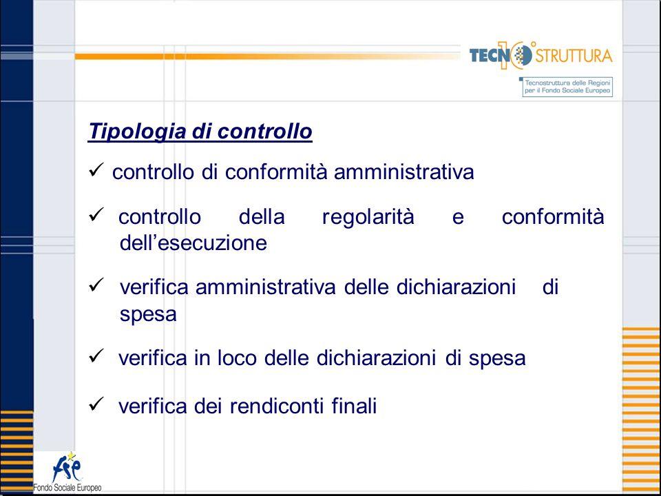 Tipologia di controllo