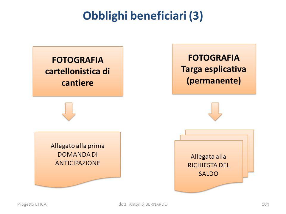 Obblighi beneficiari (3)