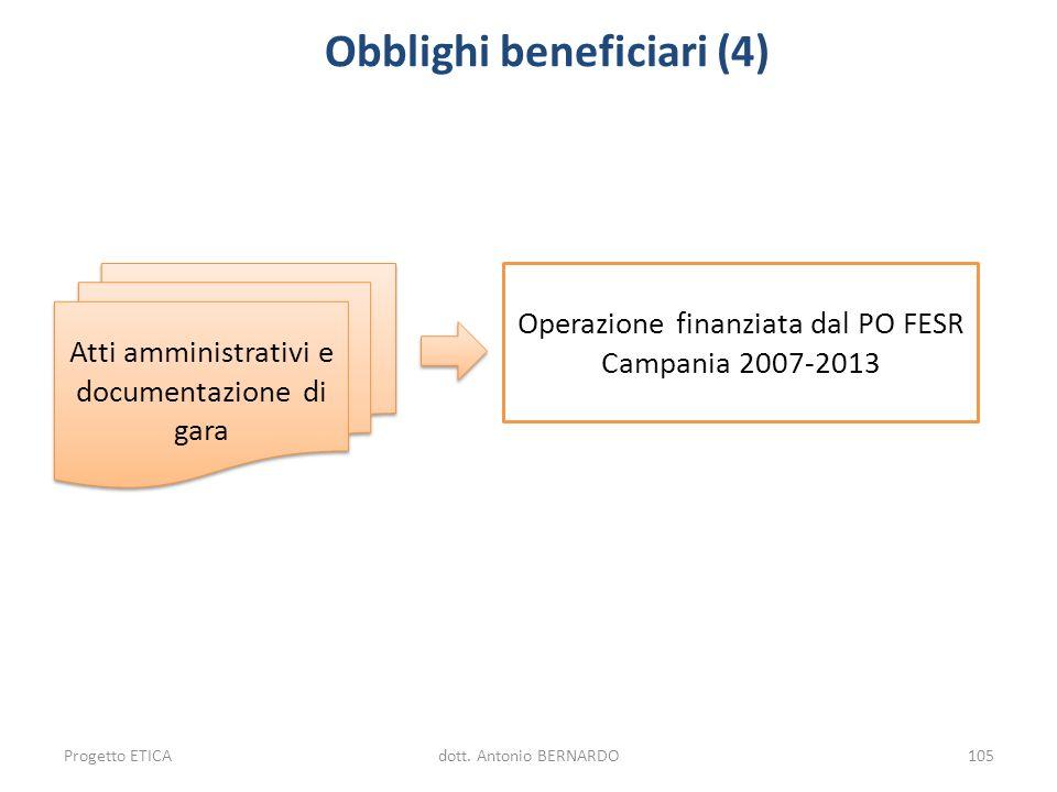 Obblighi beneficiari (4)