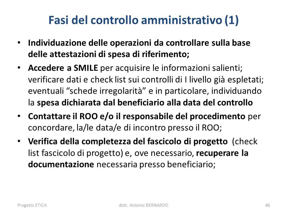 Fasi del controllo amministrativo (1)
