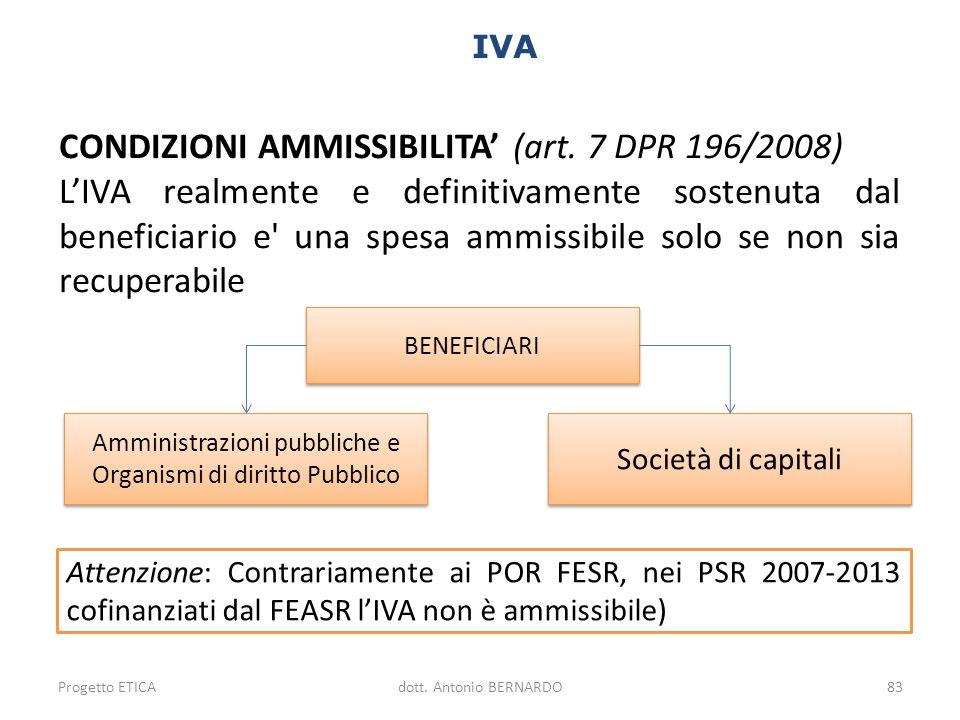 Amministrazioni pubbliche e Organismi di diritto Pubblico