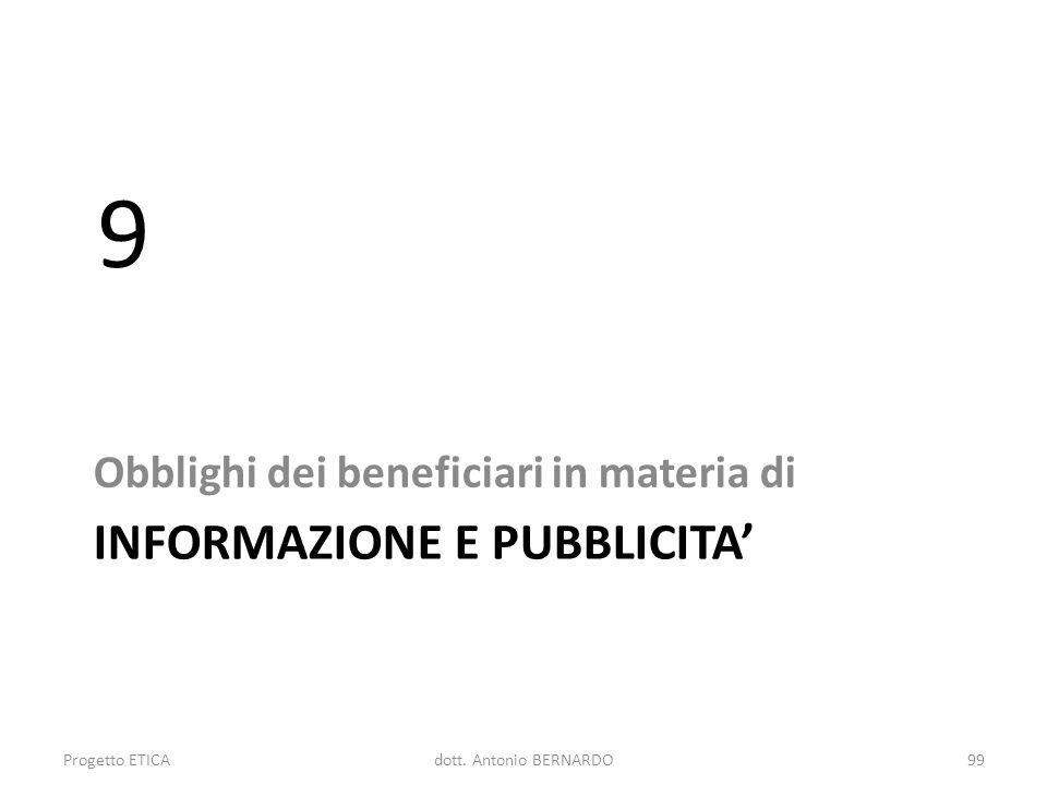 INFORMAZIONE E PUBBLICITA'