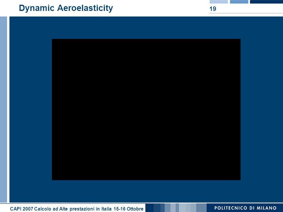 Dynamic Aeroelasticity