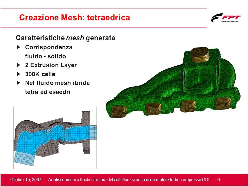Creazione Mesh: tetraedrica