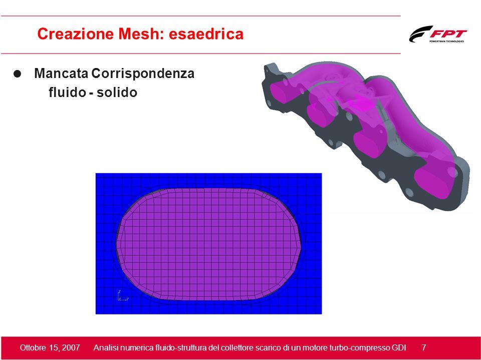 Creazione Mesh: esaedrica