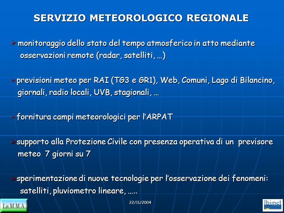 SERVIZIO METEOROLOGICO REGIONALE