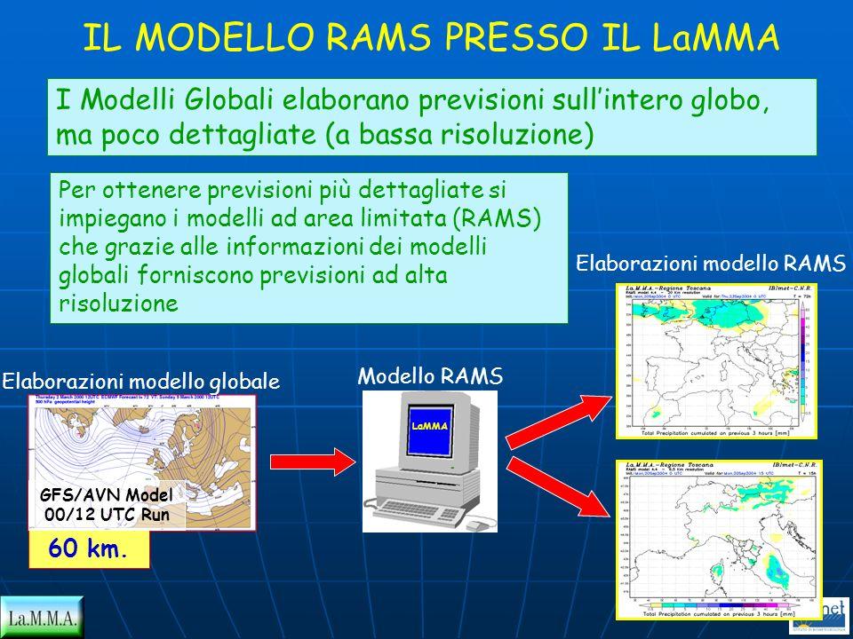 IL MODELLO RAMS PRESSO IL LaMMA