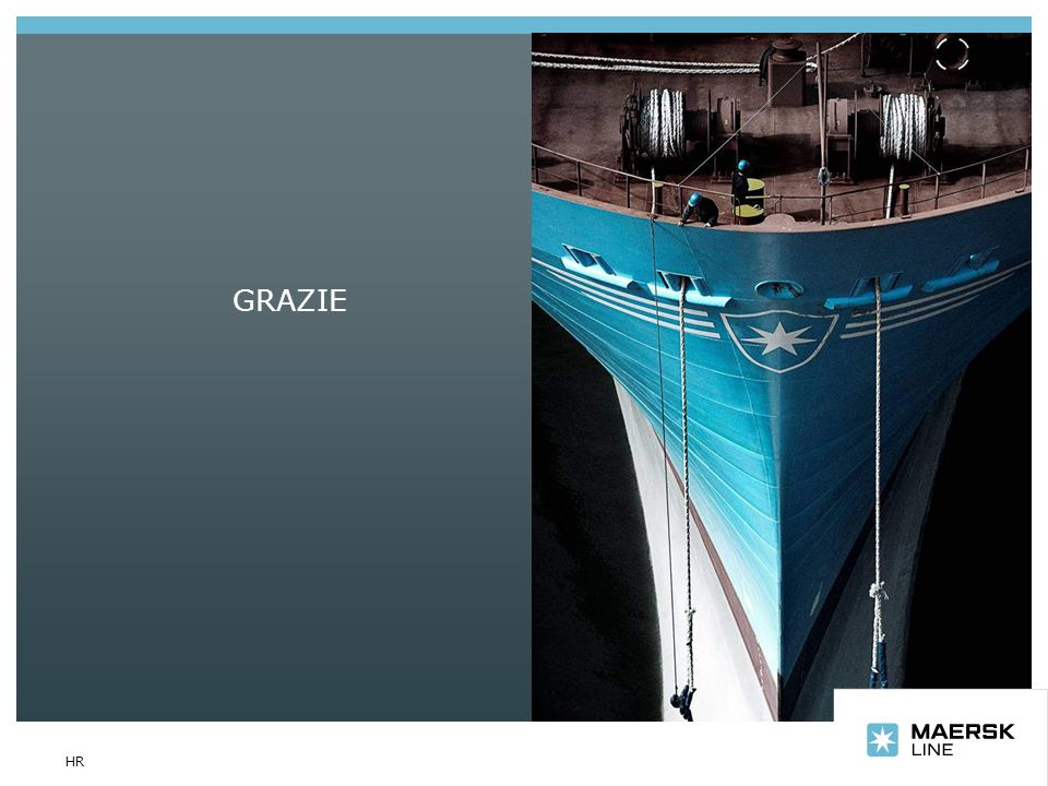 GRAZIE Text slide with image HR
