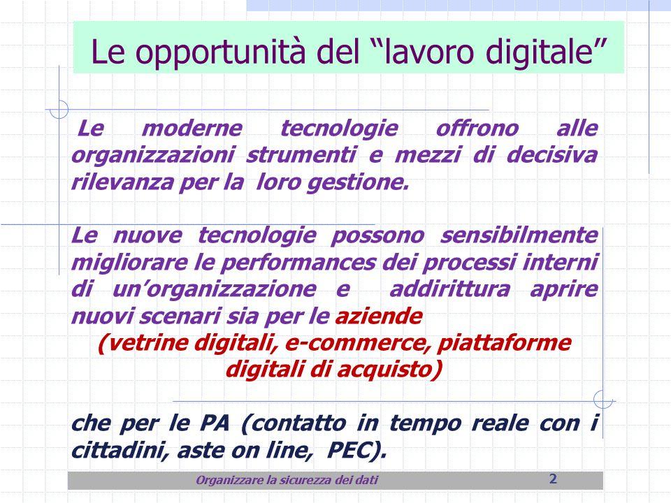 Le opportunità del lavoro digitale