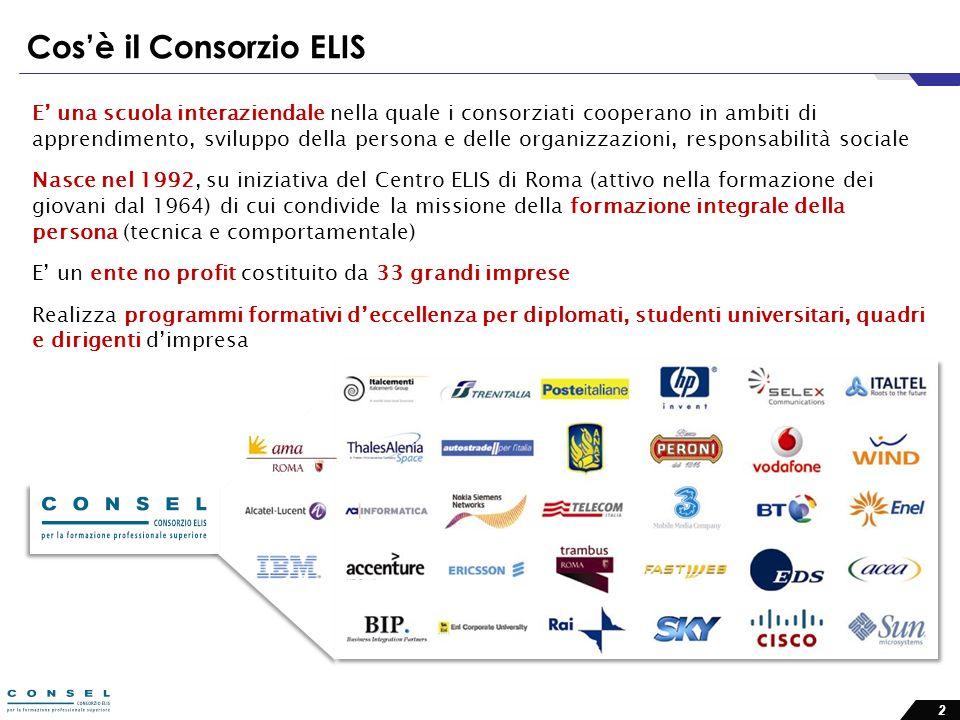 Cos'è il Consorzio ELIS