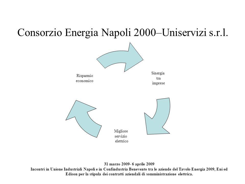 Consorzio Energia Napoli 2000–Uniservizi s.r.l.