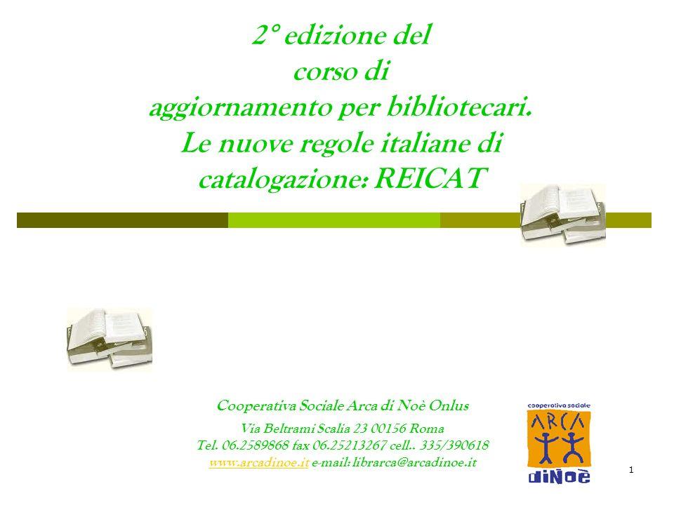 2° edizione del corso di aggiornamento per bibliotecari