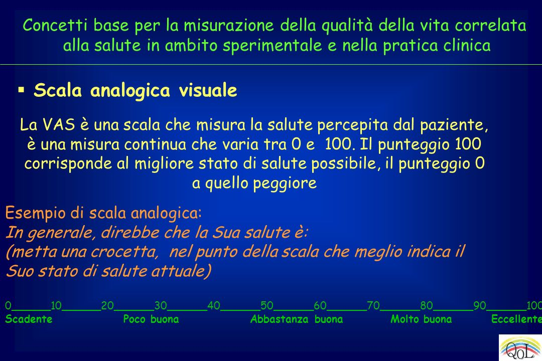 Scala analogica visuale