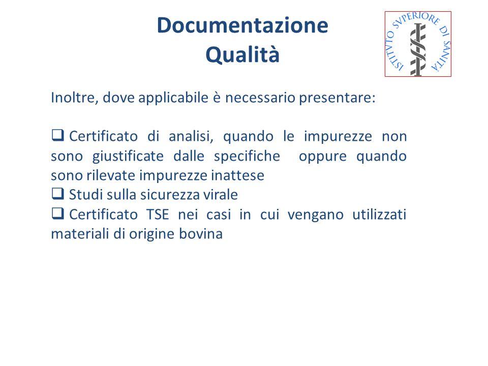Documentazione Qualità
