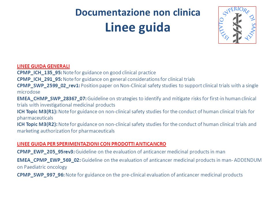 Documentazione non clinica