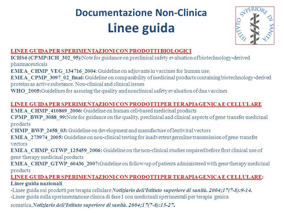 Documentazione Non-Clinica