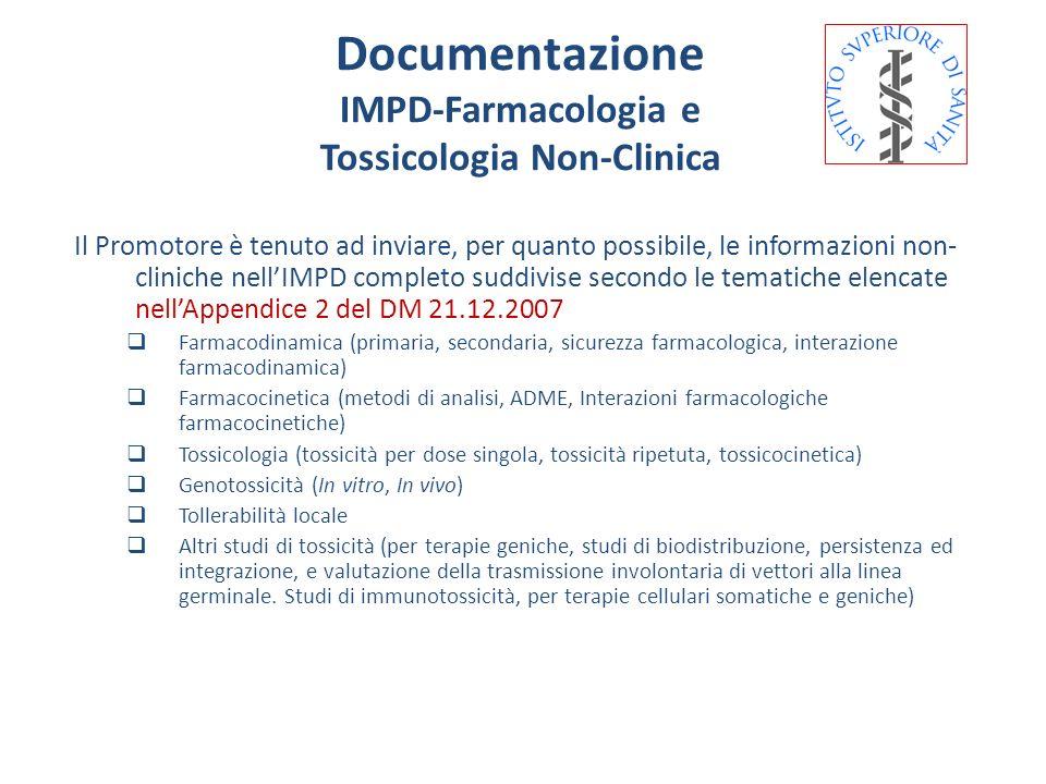 Tossicologia Non-Clinica