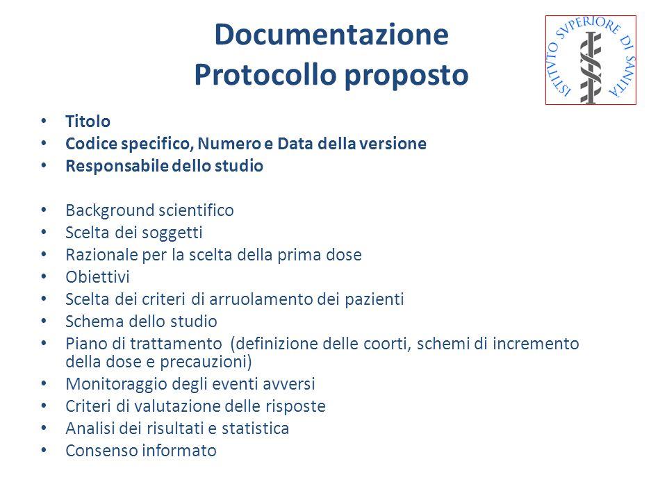 Documentazione Protocollo proposto